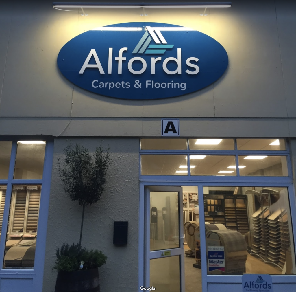 Alfords Carpets and Flooring Showroom