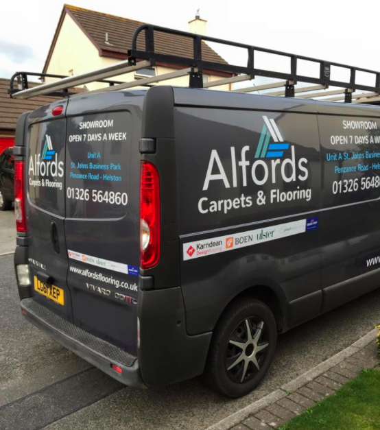 Alfords Van by Phoenix Signs